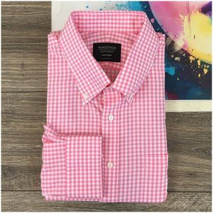 Nordstrom Casual Dress Mens Shirt Traditional Fit